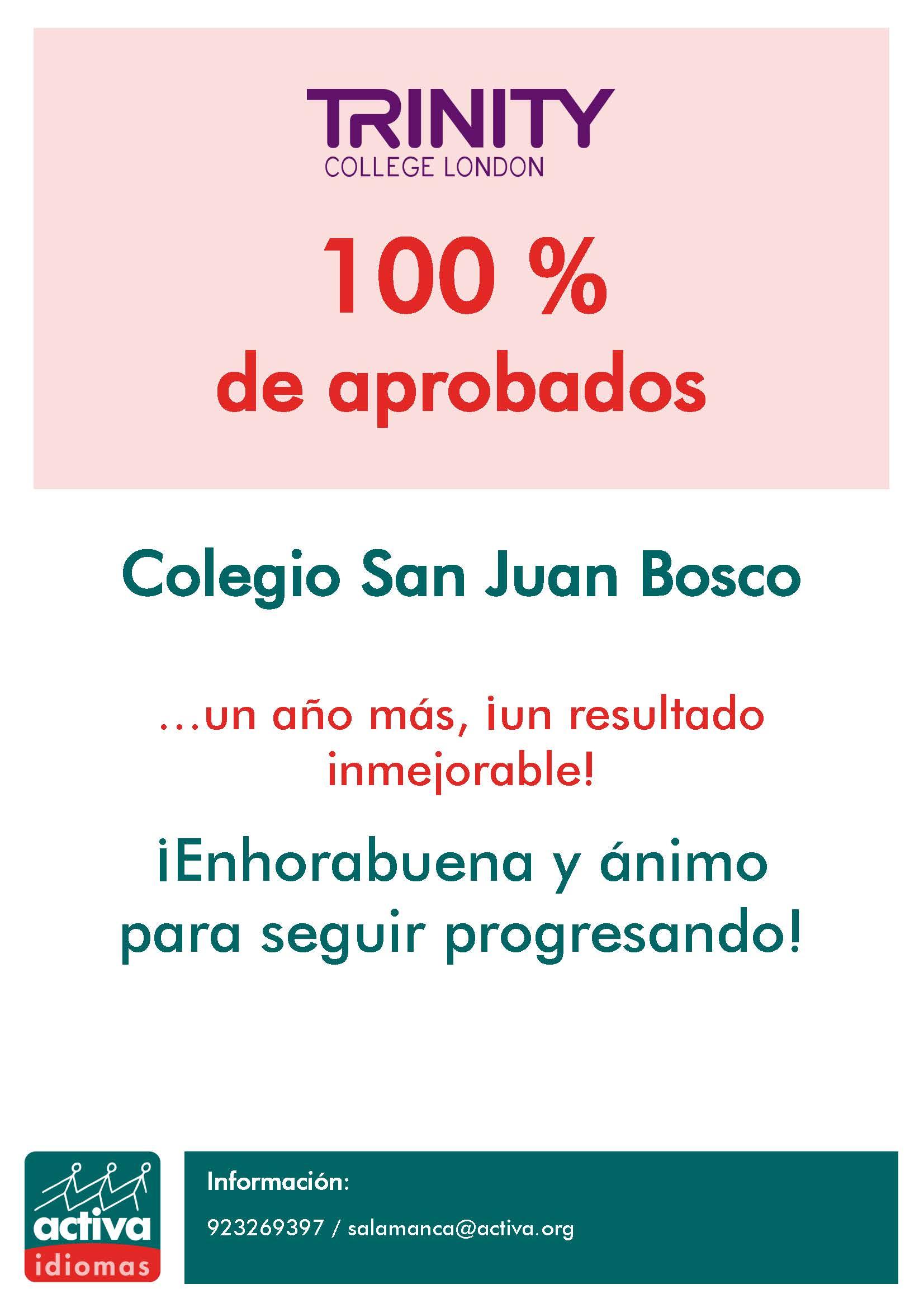 CARTEL comunicado APROBADOS - Trinity SVP San Juan Bosco