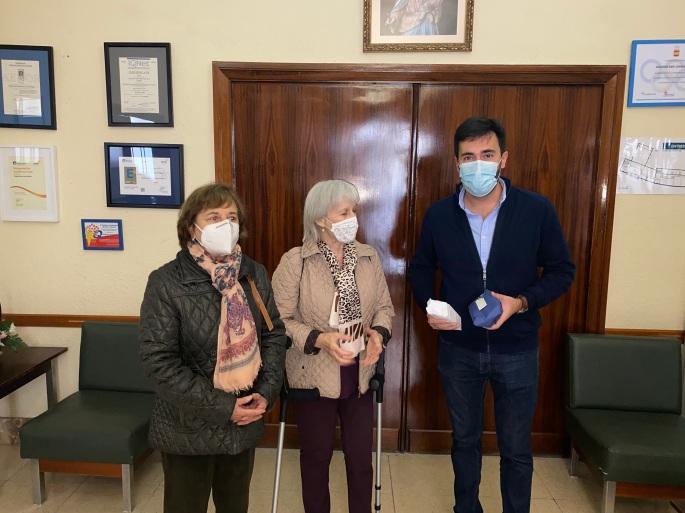 Jesús Mª Arenas Arias - Premio al Colegio por su participación